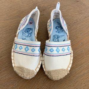 BNWT Disney Elena Shoes